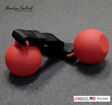 "Body-Solid SR-CB Red Ball 3"" Cannonball Chin Up Grips (2 pcs) - GymBasis Store"