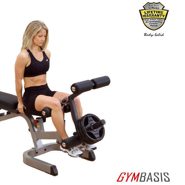 Body-Solid GLDA3 Leg Developer Attachment - for GFID71 / GFID100 Benches - GymBasis Store