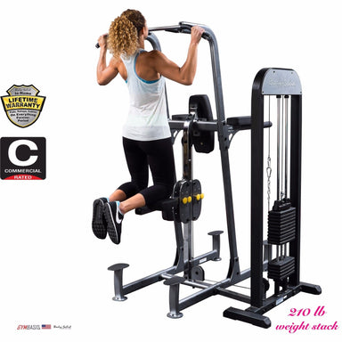 Body-Solid Weight Assist FCD-STK 210lb Pull Up, Dip Power Tower VKR FCD - GymBasis Store