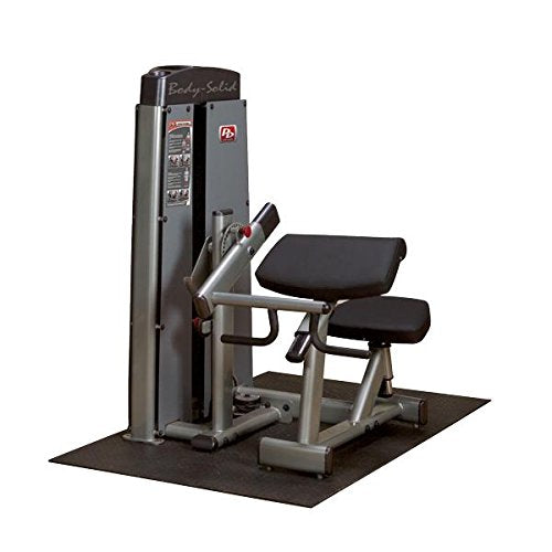 Body Solid DBTCSF ProClub Line Pro Dual Bicep/Tricep Machine with Adjustable Arm Pad and Gas-Assisted - GymBasis Store