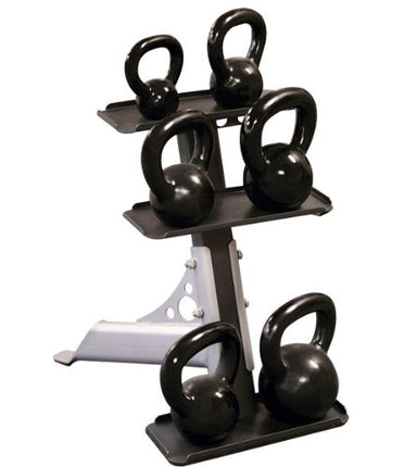 Body-Solid 3-Pair Kettlebell Rack - GymBasis Store