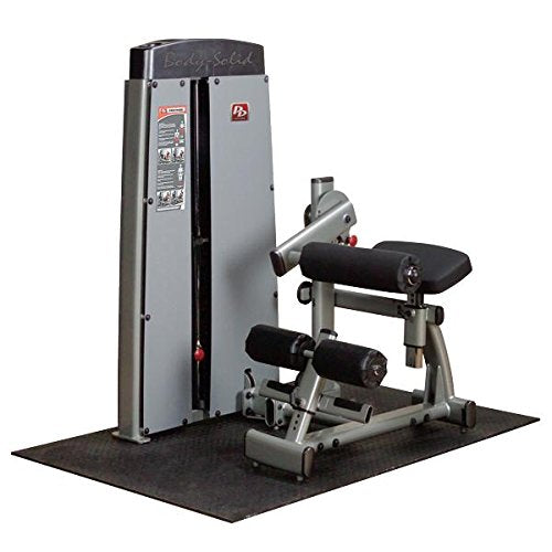 Body Solid DABBSF ProClub Line Pro Dual Ab and Back Machine with Adjustable Roller Pad and Gas-Assisted - GymBasis Store