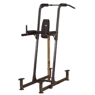 Body-Solid FCD Commercial Power Tower With Vertical Knee Raise, Dip Station, Push-Up station, and Pull-Up Station - GymBasis Store