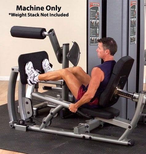 Body Solid DCLP Pro Dual Leg and Calf Press Component for DGYM without Weight - GymBasis Store