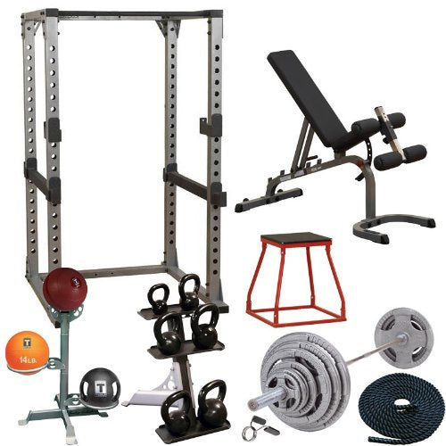 Body-Solid Garage Gym Cross-Training Studio Set - SILVER Package - GymBasis Store