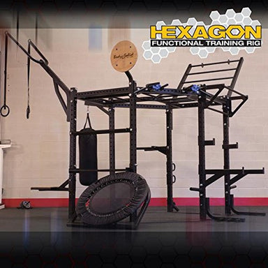 "Body Solid SRHEXCLUB Body Solid 117"""""""" Hexagon System with Club Attachment - GymBasis Store"