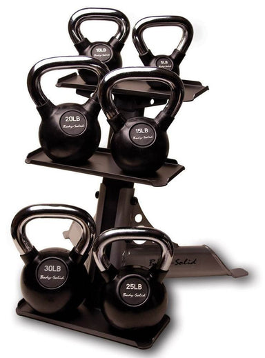Kettle Bell and Rack Set - GymBasis Store