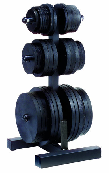 Body Solid Olympic Plate Tree and Bar Holder - GymBasis Store