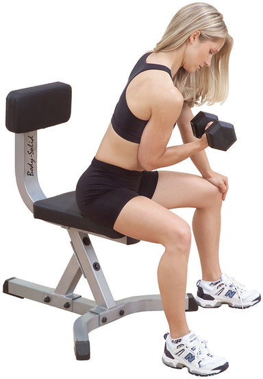 Upholstered Dumbbell Stool - GymBasis Store