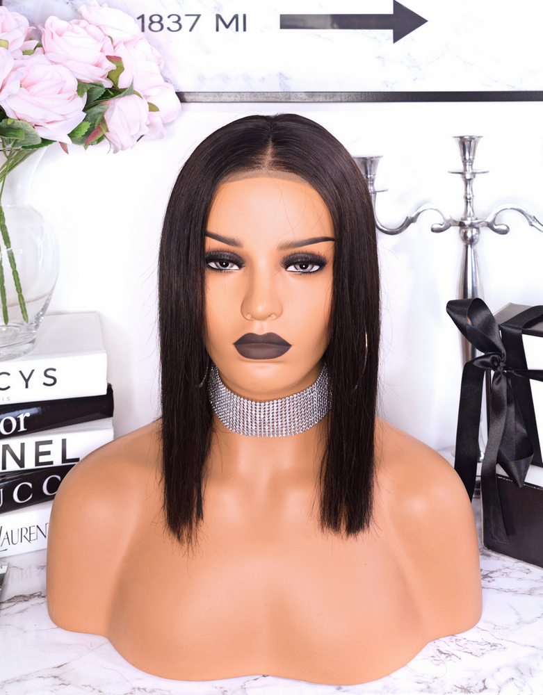"PERRUQUE LACE WIG - COUPE CARRÉ ""ASHLEY"""