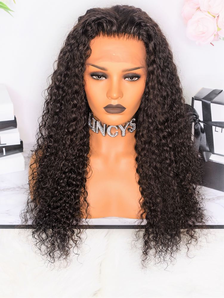LINCYS HAIR │Perruque Lace Frontal Bouclé