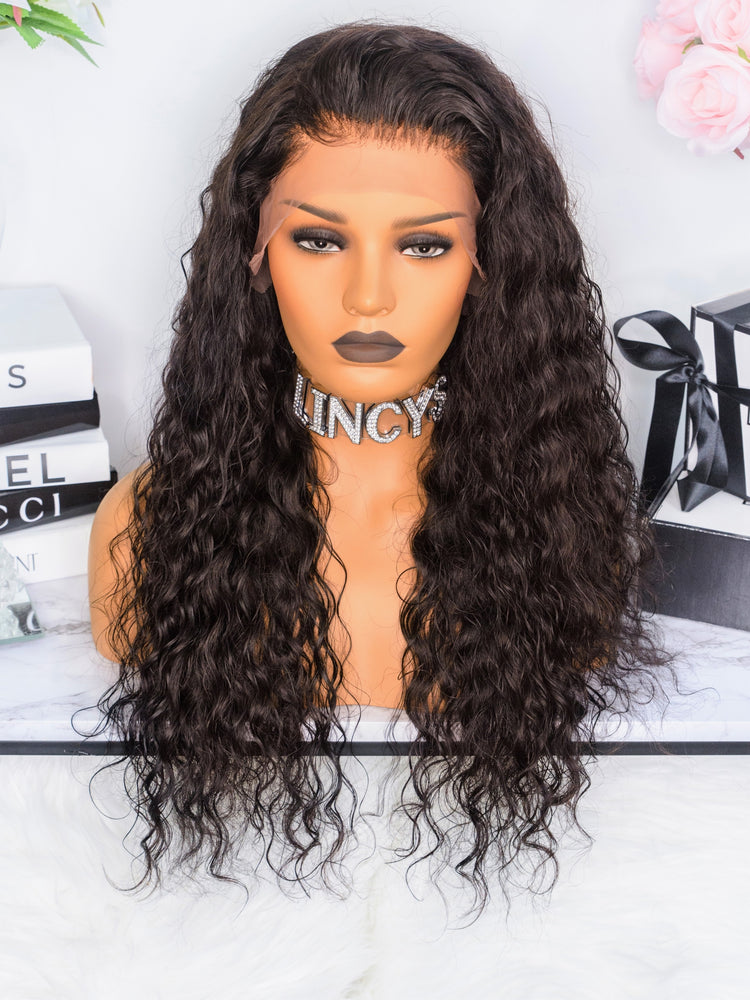 LINCYS HAIR │Perruque Lace Frontal Deep wave