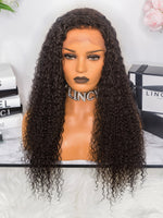 PERRUQUE - LACE WIG KINKY CURLY AFRO - LINCYSHAIR