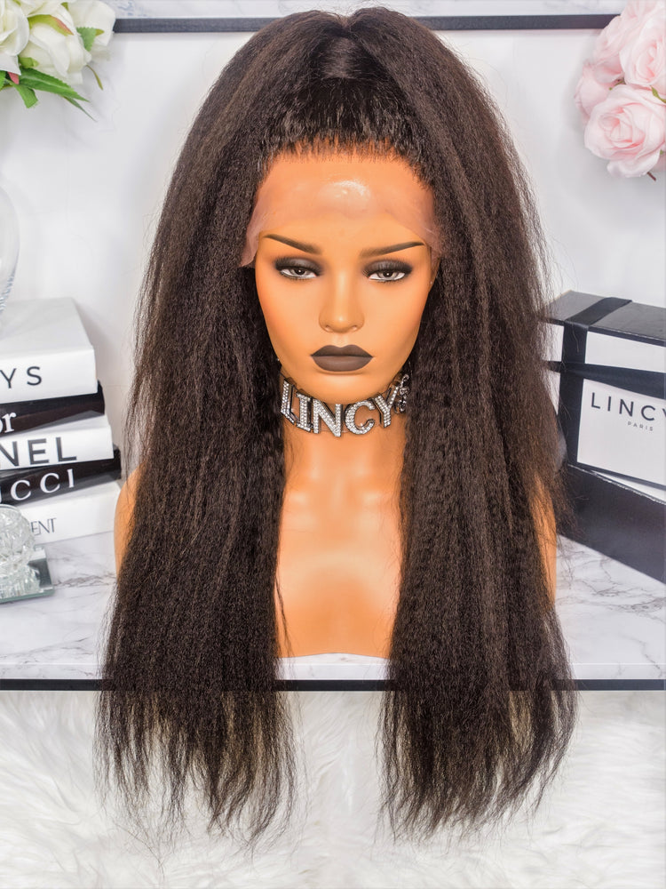 PERRUQUE - LACE WIG KINKY LISSE AFRO - LINCYSHAIR