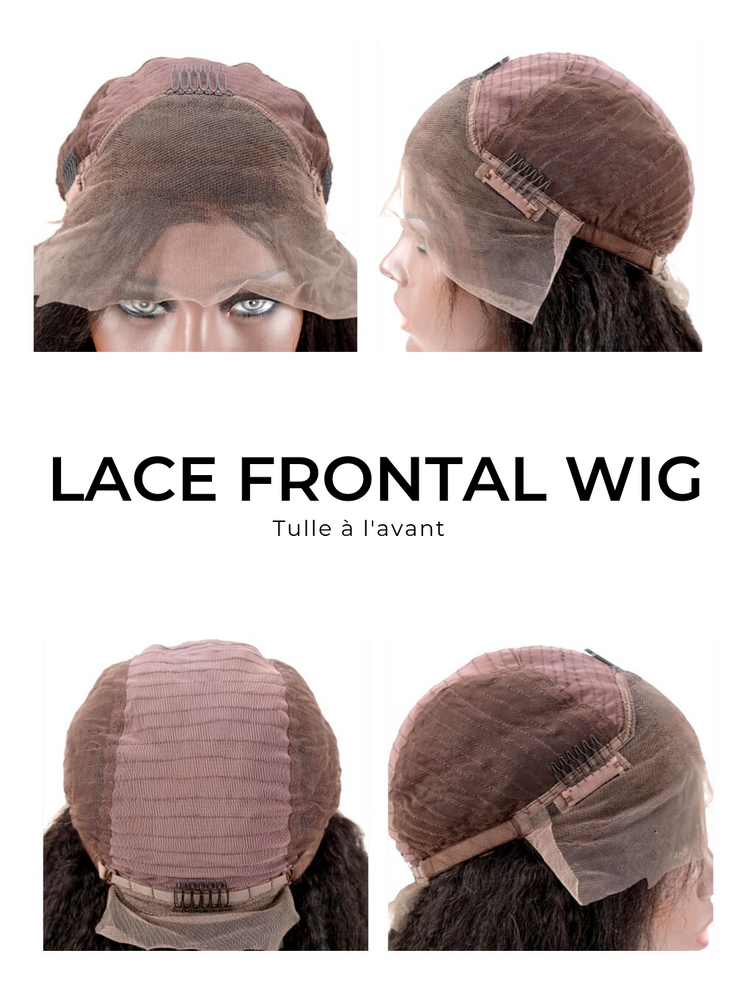"PERRUQUE LACE WIG - COUPE CARRÉ ""MAELLY"" - LINCYSHAIR"
