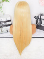 PERRUQUE - LACE WIG LISSE - BLONDE - LINCYSHAIR