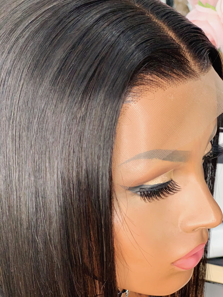 "PERRUQUE LACE WIG - COUPE CARRÉ ""ASHLEY"" - LINCYSHAIR"