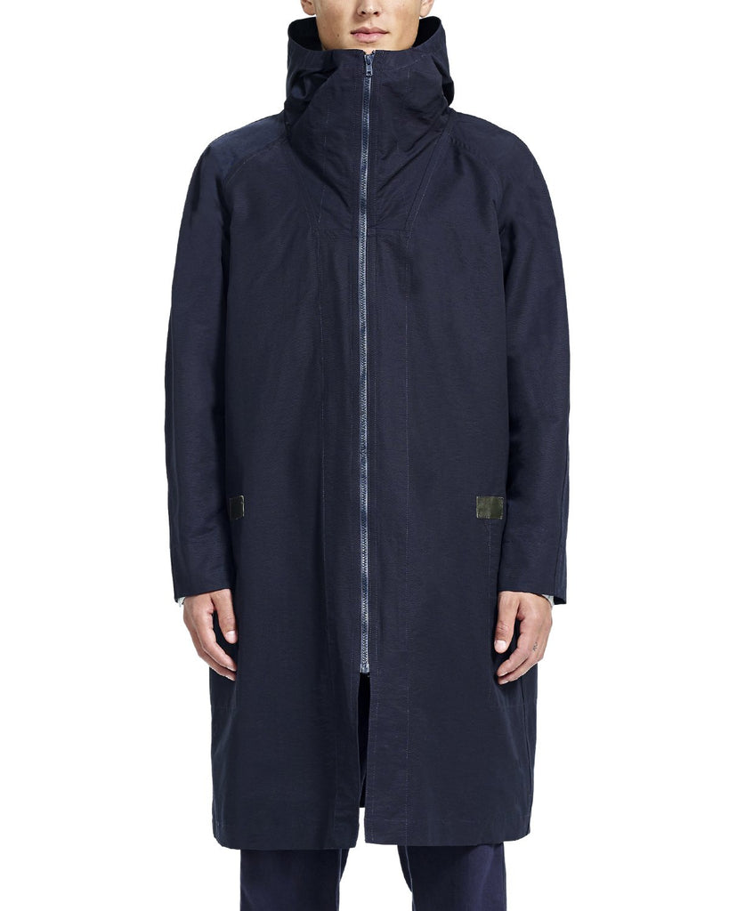 Chris Overcoat - Navy - Outerwear - By Ddugoff