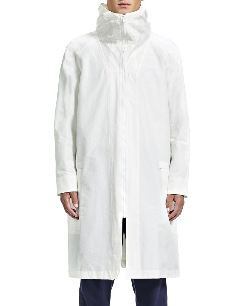 Chris Overcoat - White - Outerwear - By Ddugoff