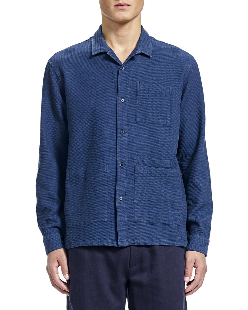 Nick Overshirt - Indigo - Shirts - By Ddugoff