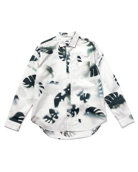 Henry Shirt - Day Monstera