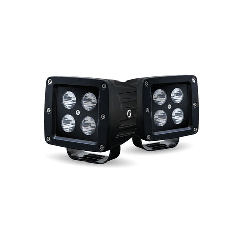 SPOT LED BLACK SPORT KIT WITH 4 LEDS