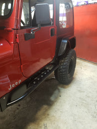 YJ FULL REAR CORNER GUARDS