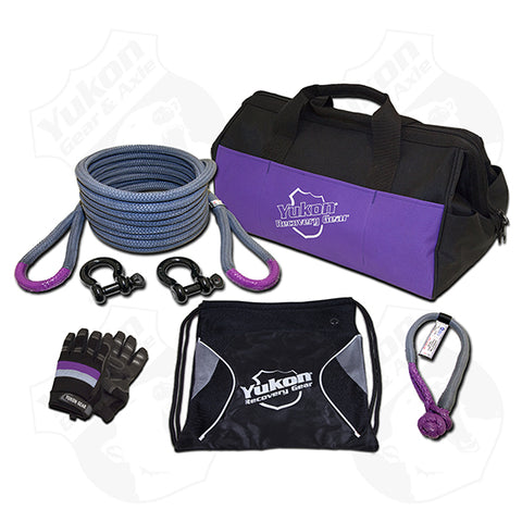 Yukon Recovery Gear Kit with 7/8″ Kinetic Rope Tow Strap