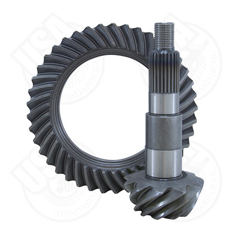 USA STANDARD RING & PINION REPLACEMENT GEAR SET FOR DANA 30 REVERSE ROTATION IN A 4.56 RATIO