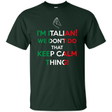 Italian - We Don't Do That Keep Calm Thing