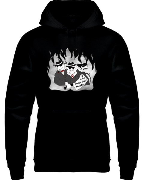 The Smokin Meat Mafia Front Logo Hoodie