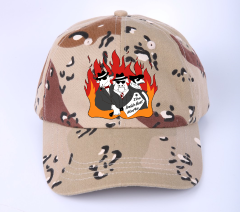 The Smokin Meat Mafia Firey Camo Hat