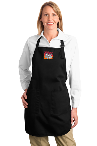 The Smokin Meat Mafia's Full Length Apron With Pockets