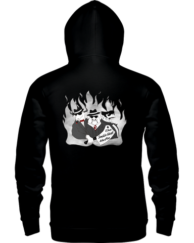 The Smokin Meat Mafia Back Logo Hoodie