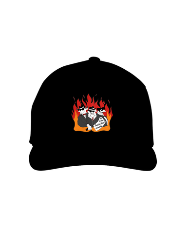 The Smokin Meat Mafia Firey Logo Hat
