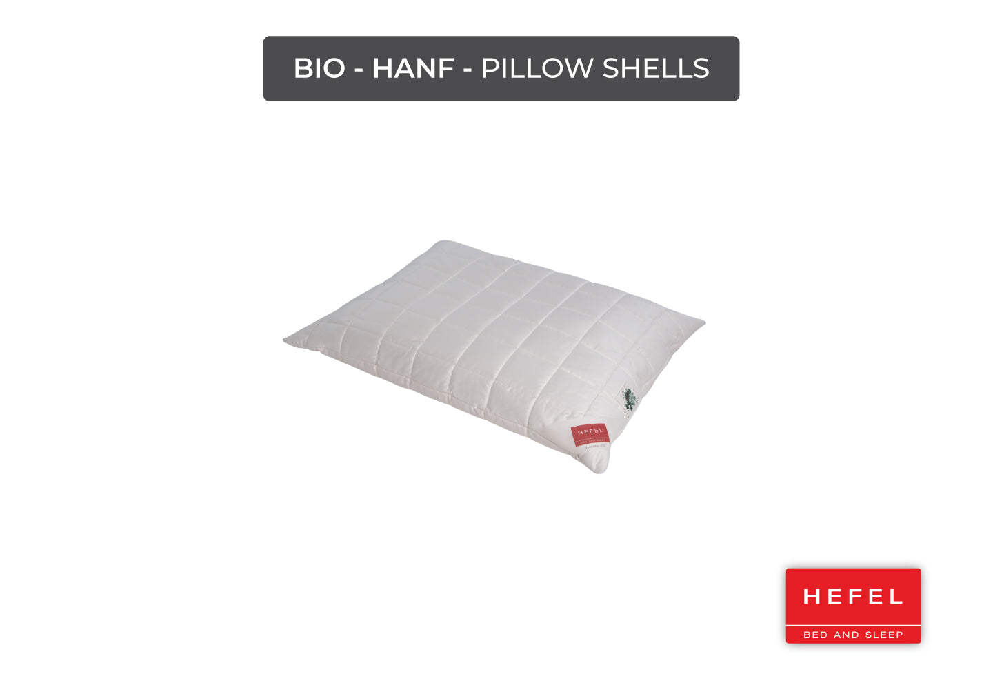 Bio - Hanf - Pillow Shells