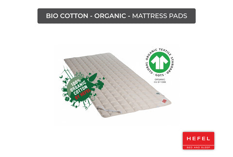 Bio Cotton - Organic - Mattress Pads