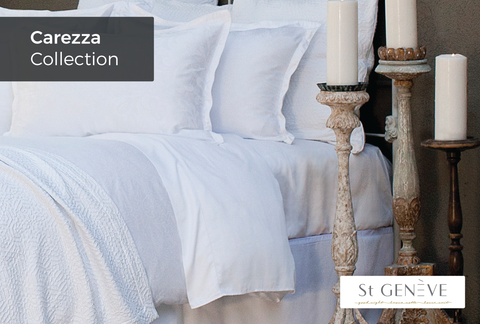 Carezza Collection - Duvet Cover - Reverse to same pattern