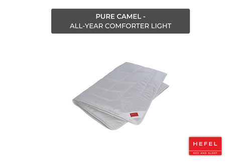 Pure Camel - All-year comforter light