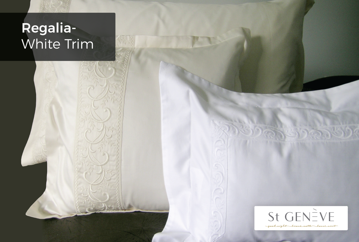 Regalia-White-Trim - Pillowcase