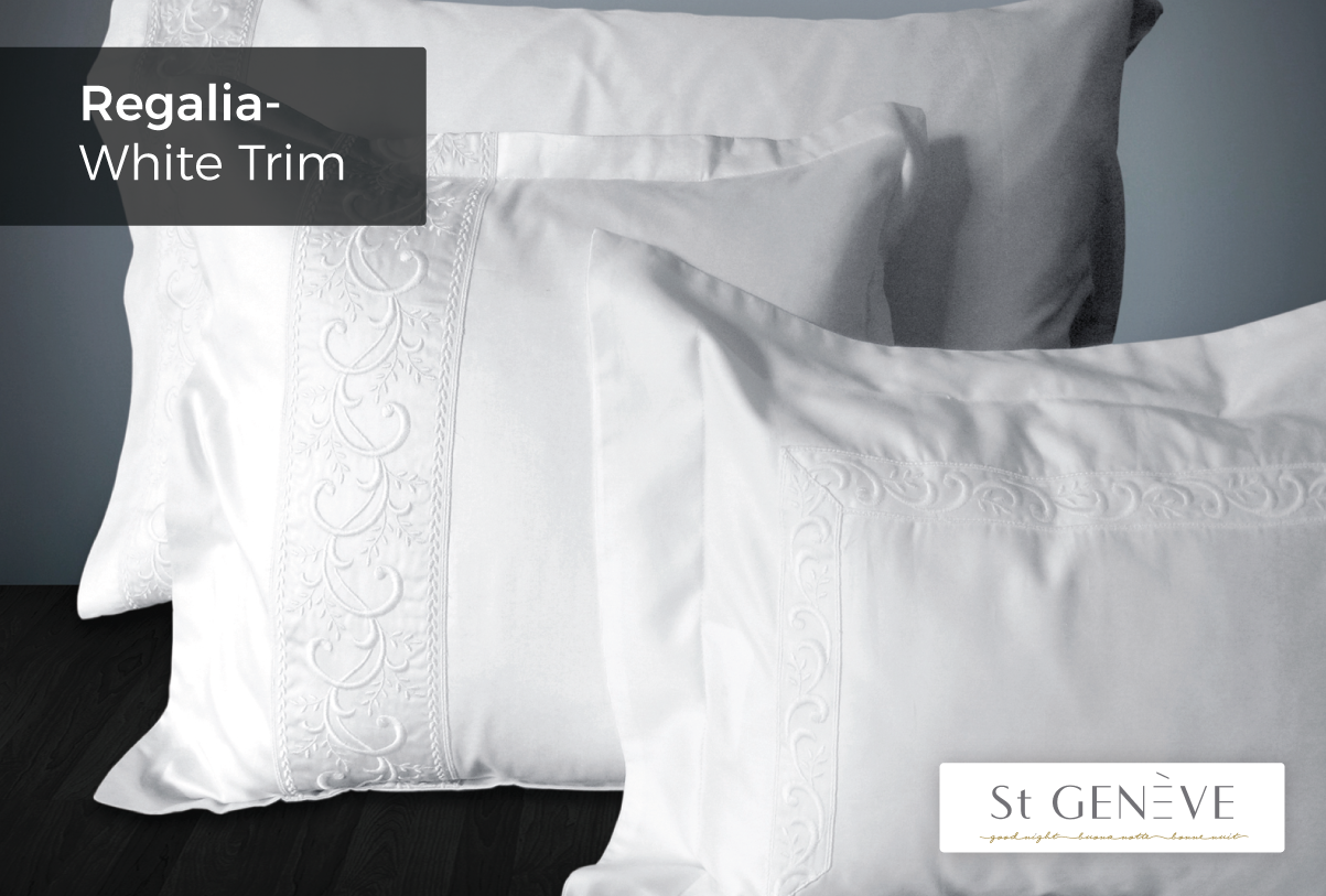 Regalia-White-Trim - Flat Sheet