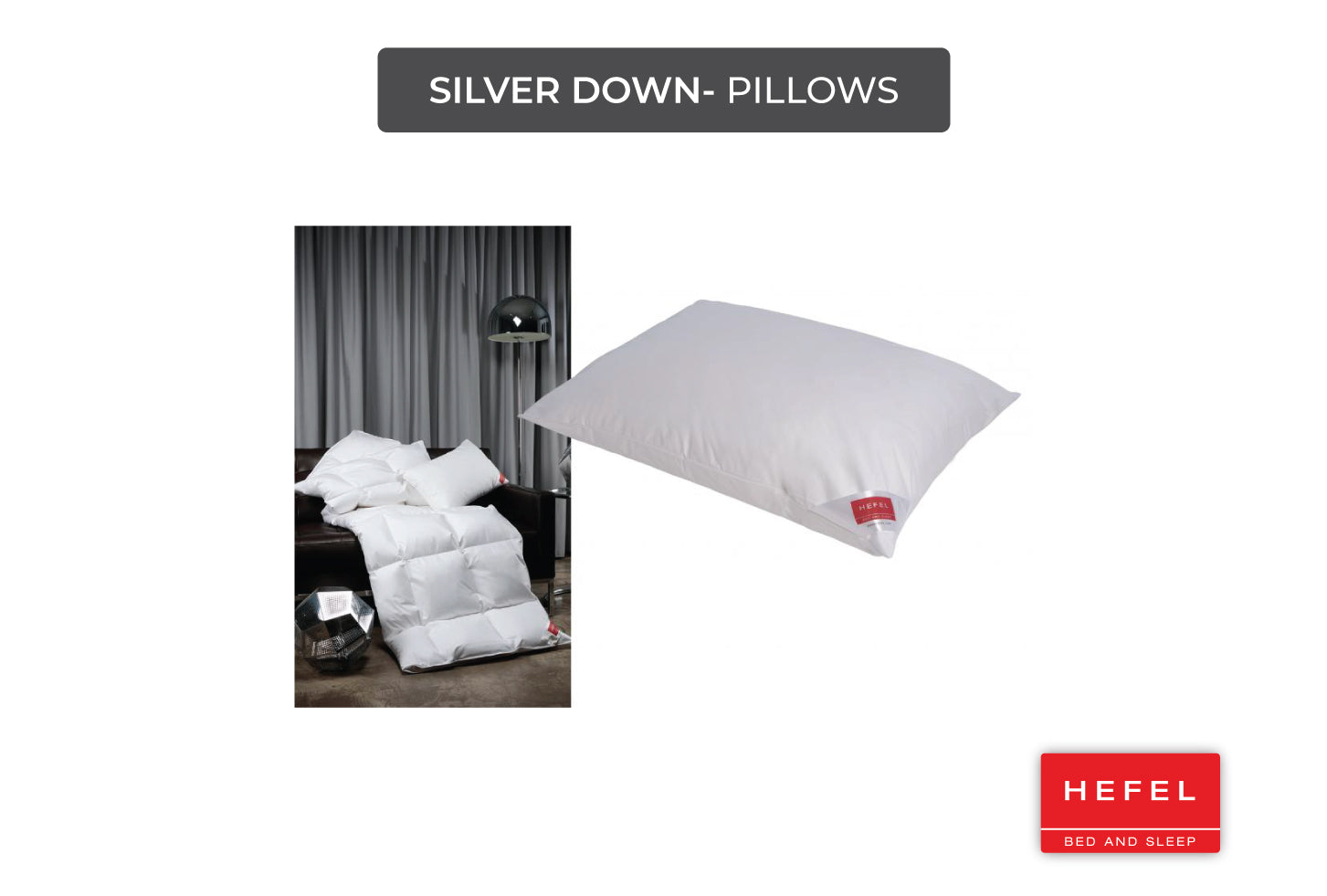 Silver Pillows
