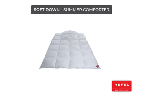Soft Down - Summer comforter