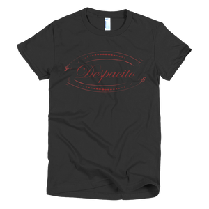 Despacito ladies black short sleeve t-shirt - iiwiiyolo Clothing