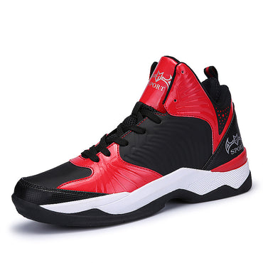 Athletic Shoes Leather Basketball Boots