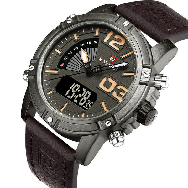 Waterproof Military Sports Watches Men