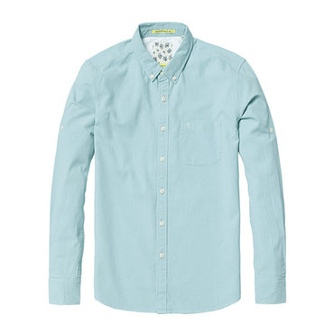 Long sleeve Square Collar Cotton