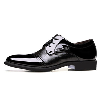 Genuine Leather Lace-up Formal Oxford