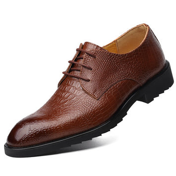 Business Brand Leather Men Shoes