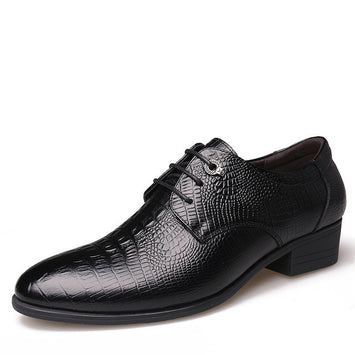 Leather Men Flats , Business Brand Leather Men Shoes